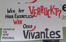 Streik bei Vivantes. PatientInnen erklären sich solidarisch mit dem Streik