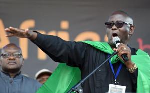 Vavi auf dem Arbeitergipfel in Johannesburg am 1.5.2016