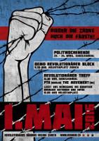 1. Mai 2016 Zürich - Plakat Revolutionäres Bündnis