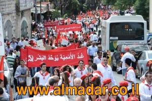 1. Mai 2016 in Nazareth - die arabische Linke gibt es noch...