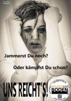 Plakat der freiburger Protestaktion Pflege am Boden 2015