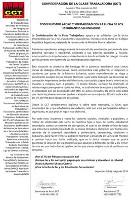 Solidaritätsflugblatt des Gewerkschaftsbundes CCTT mit der Besetzungsbewegung der Studierenden in Paraguay