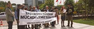İstanbul Swiss Hotel: Arbeiter*innen rufen zu internationaler Solidarität auf (Mai 2016)