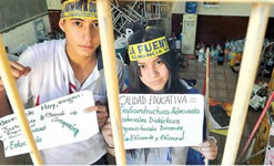 Studierendenproteste in Paraguay 2016