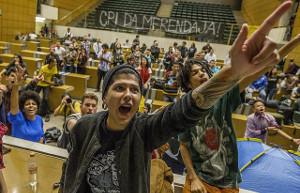 Besetzung des Landtags von Sao Paulo durch SchülerInnen am 3.5.2016