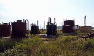 Ölfeld in Albanien 2015