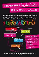 18./19. Juni 2016: Menschenketten gegen Rassismus