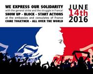 Wir solidarisieren uns mit unseren Freunden in #Frankreich