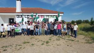 Besetzung der SAT in Andalusien geräumt - und wieder besetzt: DAs Landgut Somonte