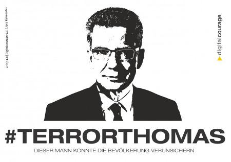 #Terrorthomas: Dieser Mann könnte die Bevölkerung verrunsichern. CC BY 4.0 Digitalcourage