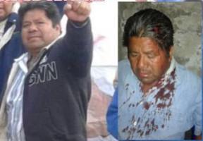 Juan Caballero von der mexikanischen Polizei tödlich verletzt, gestorben am 5.7.2016