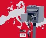 Das Cover des EGB-Reports zu Briefkastenfirmen