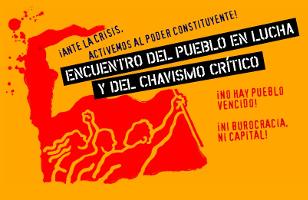 Logo der gemeinsamen Kampagne kritischer Chavismus und Linke - Venezuela im Juni 2016