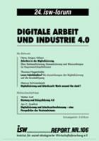 isw-report 106: Digitale Arbeit und Industrie 4.0
