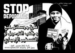 Infocomic: Stop Deportation. Oder: Wege, eine Abschiebung zu verhindern