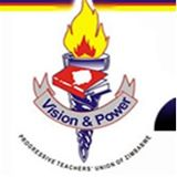 Das Logo der Progressive Teachers Union of Zimbabwe