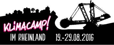 Klimacamp 2016 im Rheinland vom 19.-29. August 2016