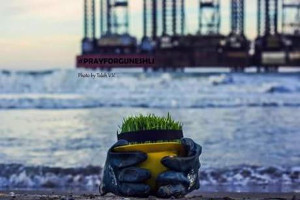 Aserbeidschanische Ölförderung im Kaspischen Meer