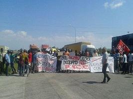 25.8.2016 - Streik der TomatenarbeiterInnen im italienischen Foggia