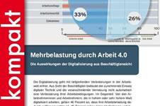 [DGB-Index] Mehrbelastung durch Arbeit 4.0: Die Auswirkungen der Digitalisierung aus Beschäftigtensicht