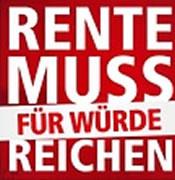 DGB startet Rentenkampagne: Rente muss für Würde reichen!