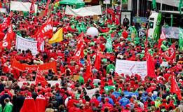 Protestdemonstration Brüssel 29.9.2016