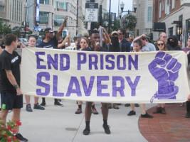 Solidarität mit dem Gefangenenstreik in den USA am 9.9.2016 - hier in New York