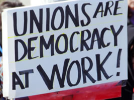 Unions are Democracy at Work