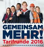 EVG Tarifrunde bei der Deutschen Bahn 2016