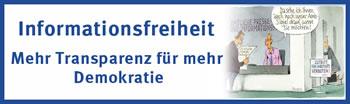 Informationsfreiheitsgesetz. Graftik der Otto Brenner Stiftung