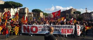 No Renzi Tag in Rom am 22.10.2016