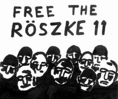 Free the Röszke 11 - Solidemo am 28. Oktober 2016 in Berlin