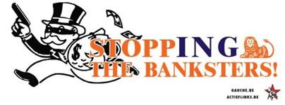 Belgien: PSL: stop banksters! Action de solidarité avec les travailleurs d'ING menacés de licenciement