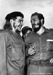 Fidel Castro und Che 1965