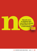 USB-Plakat zum Referendum in Italien am 4.12.2016 - Nein zur Verfassungsreform!