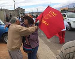 Zunehmende Verfolgung von Lehrer-Gewerkschafter*innen UNE in Ecuador - Solidarität gefragt!