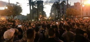 Proteste nach Fikris Tod in ganz Marokko - hier am 30.10.2016 in Rabat