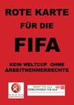 Rote Karte für die FIFA