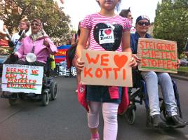 Kotti&Co:  Mieter*innen-Protest in Berlin Kreuzberg