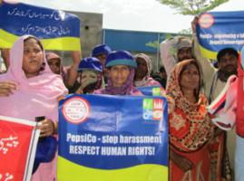 Arbeiter*innen-Protest bei PepsiCo in Pakistan (2016)