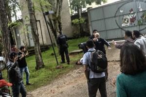 Großeinsatz der Polizei gegen Landlosenbewegung in Brasilien am 4.11.2016