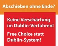 Postkartenaktion: Dublin-IV stoppen!