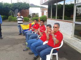 Hungerstreik Coca Cola Kolumbien 25.11.2016