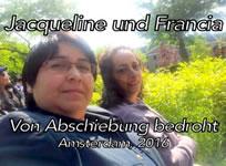 Film von Anne Frisius über Jacqueline Contreras und Francia Galeano, Sprecherinnen der United Migrant Domestic Workers in den Niederlanden und über ihren Kampf gegen die drohende Abschiebung