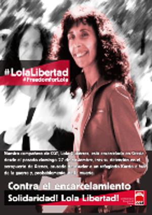 Lola Gutierrez: Spanische CGT-Gewerkschafterin in Athen festgenommen: Weil sie Flüchtlingen helfen wollte…