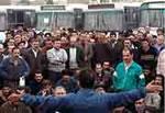 Kampf der Vahed-Bus-Gewerkschaft: Busfahrer in Teheran protestieren