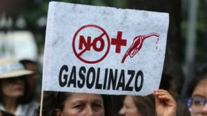 Das Motto aller Proteste in Mexiko Anfang 2017