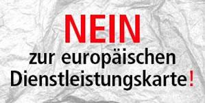 DGB: Nein zur Elektronischen Europäischen Dienstleistungskarte
