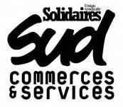 Frankreich: Logo der SUD Commerce