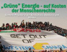 """Veranstaltung: """"Grüne"""" Energie - auf Kosten der Menschenrechte am Dienstag 31. Januar 2017 in München"""